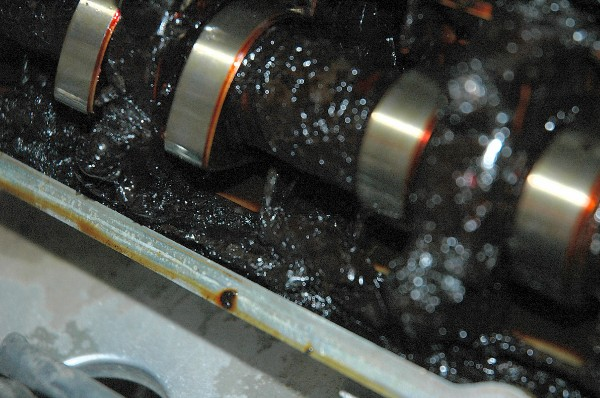 Gunk on Camshaft